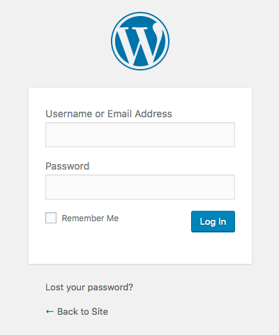 Login into your WordPress website