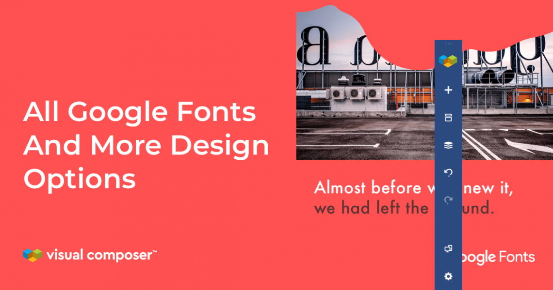 All Google Fonts for WordPress with Visual Composer Website Builder