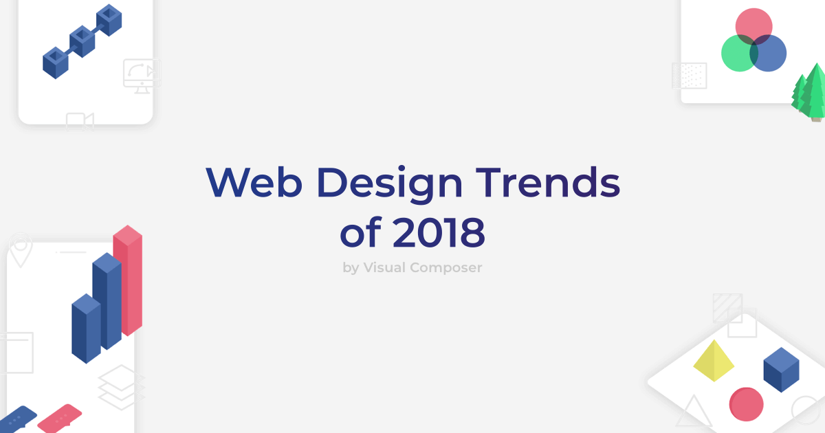 Discover all web design trends of 2018