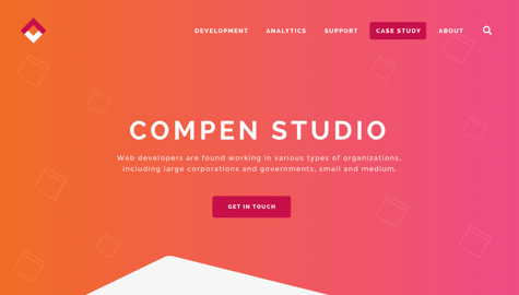 Studio page example with Visual Composer for WordPress