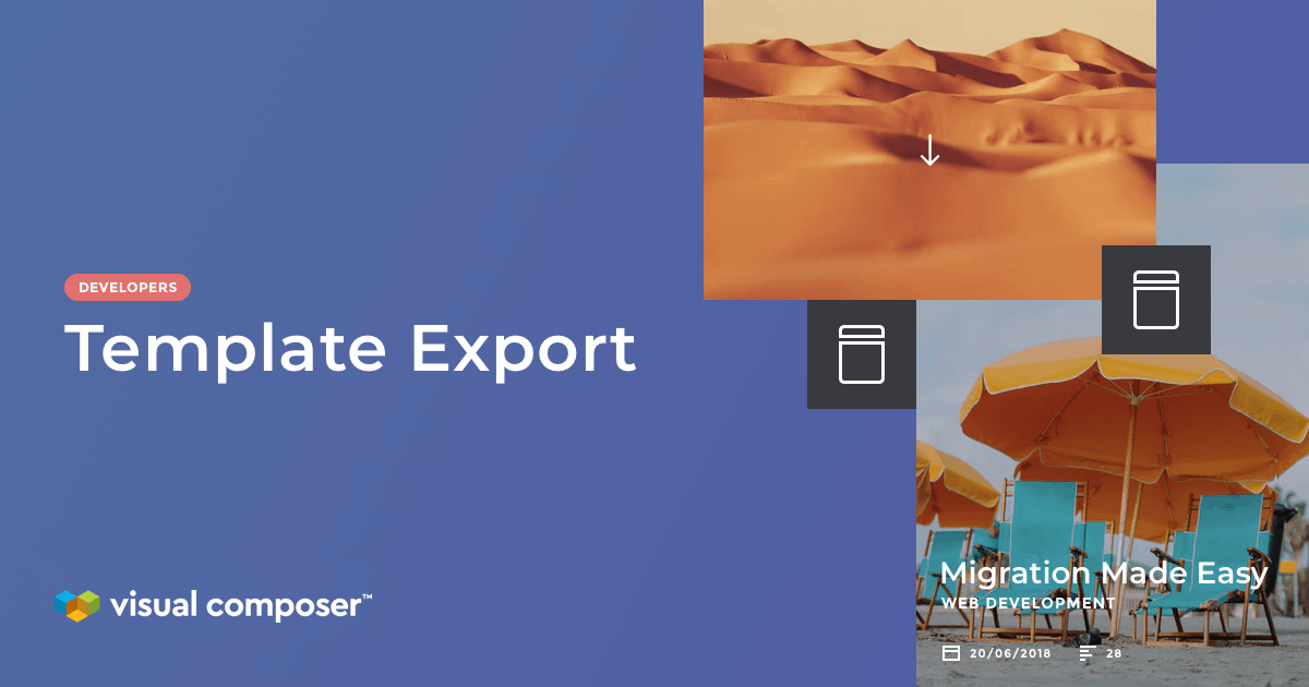 Export/Import Visual Composer templates from site to site