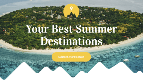 WordPress template for travel catalog and business