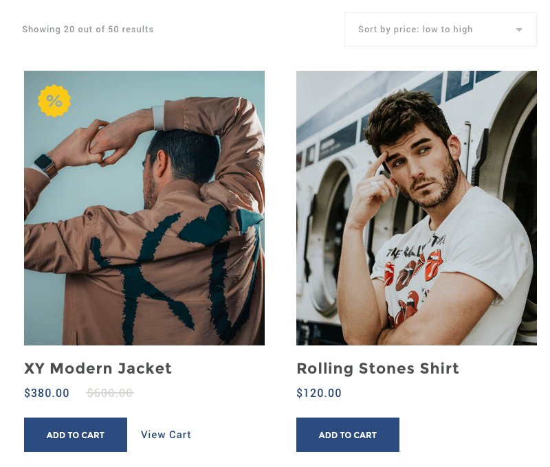 WooCommerce Starter theme WooCommerce Product list