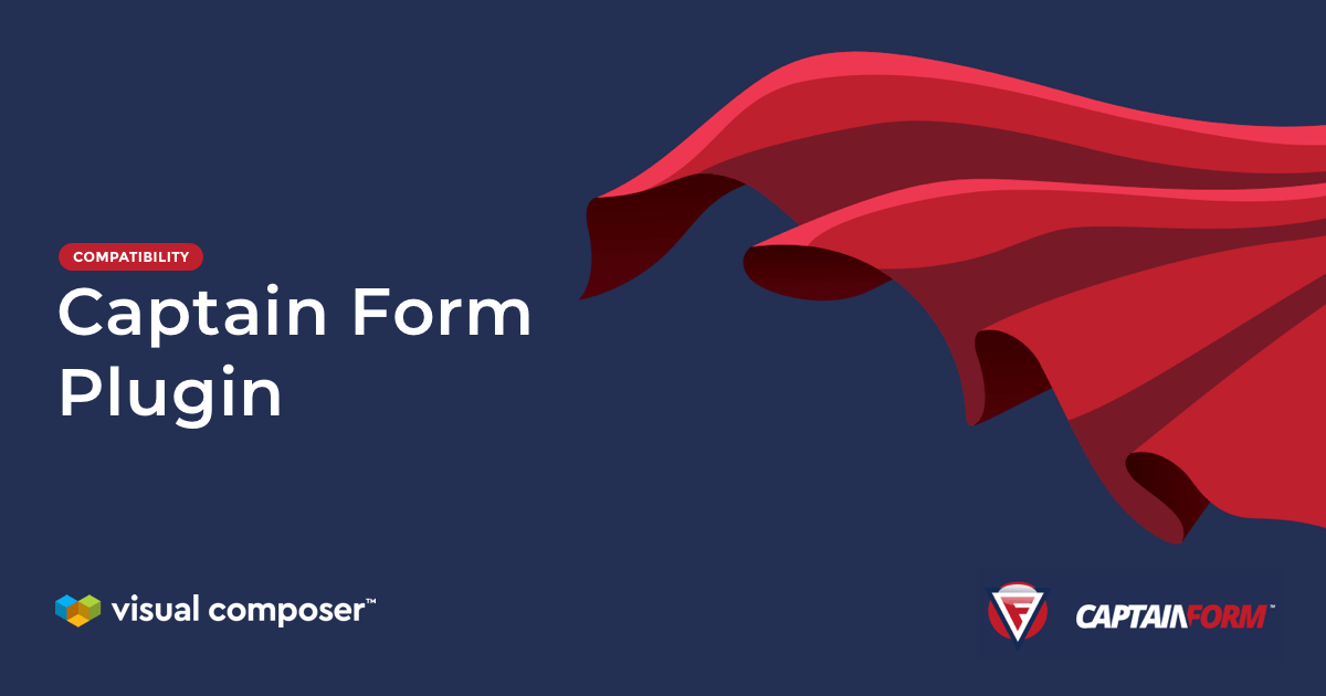 Add Captain Form to your WordPress site with Visual Composer