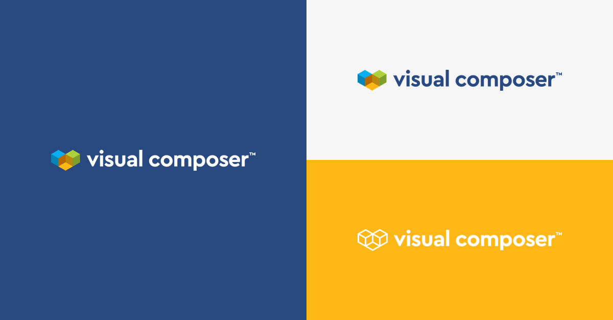 New Visual Composer brand