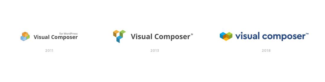 Visual Composer logo evolution history