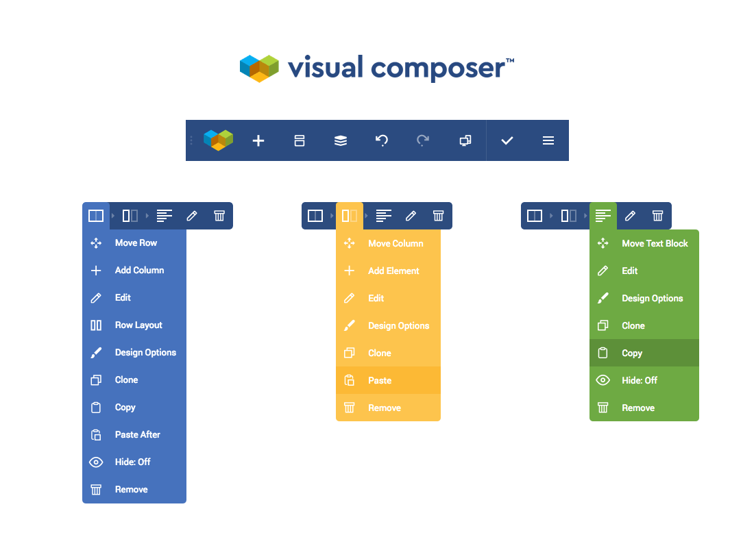 Visual composer, a WordPress page builder plugin