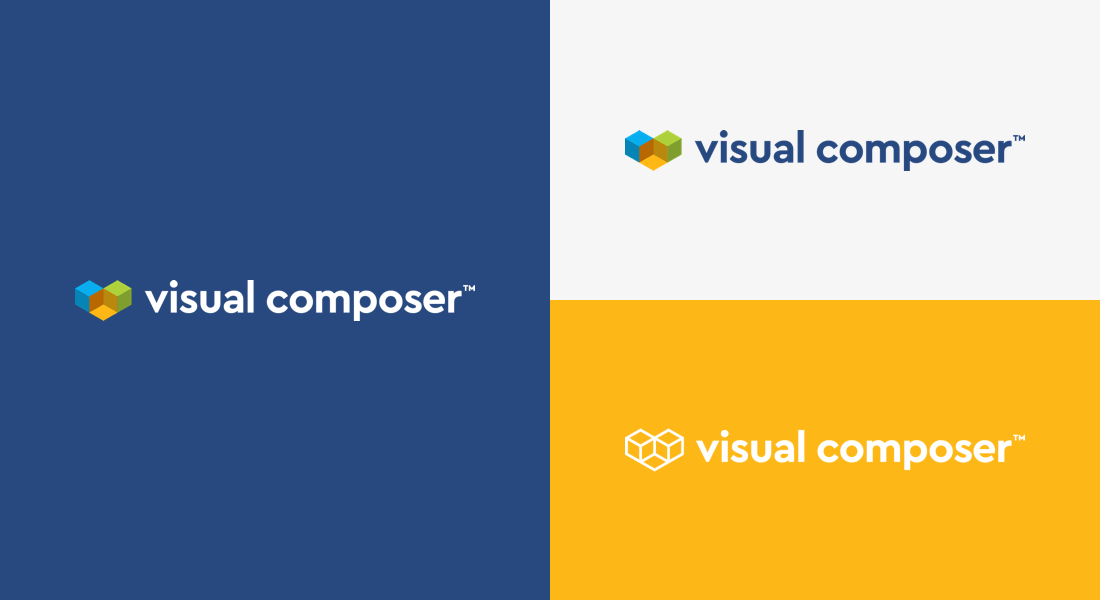 New Visual Composer logo and brand update