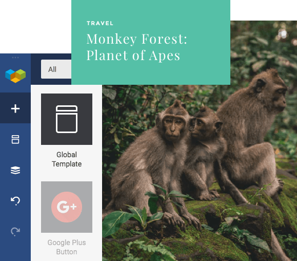 Add global templates with Visual Composer Global Template Element