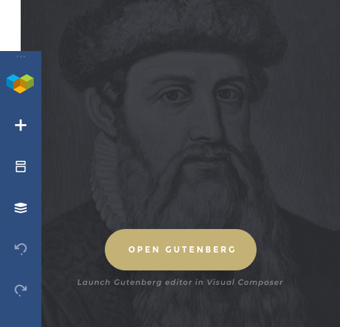 Add Gutenberg modules in Visual Composer