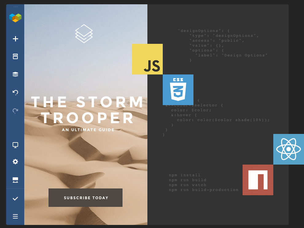Create custom elements, add-ons and theme integration with Visual Composer API