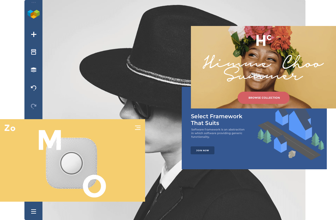 Visual Composer professional templates for WordPress