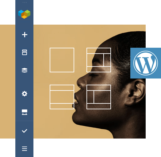 Visual Composer builder works with any WordPress theme