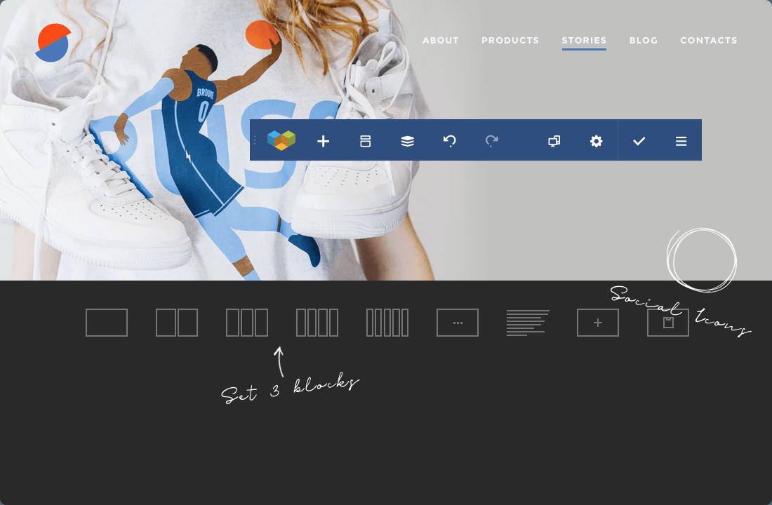 Create custom header and footer for WordPress