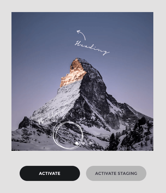 Activate Visual Composer Premium on staging and production