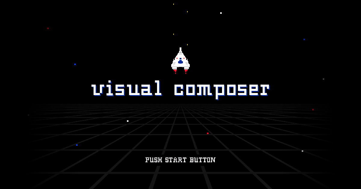 Visual Composer 16-bit game for easy and fun web design