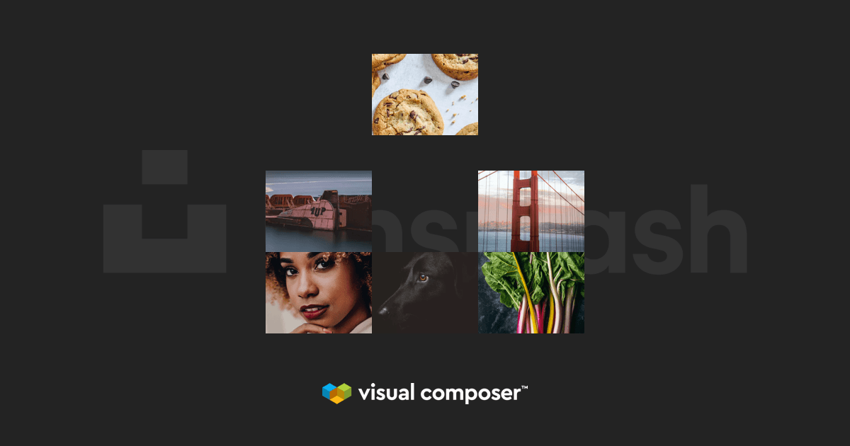 Unsplash and Visual Composer integration for WordPress