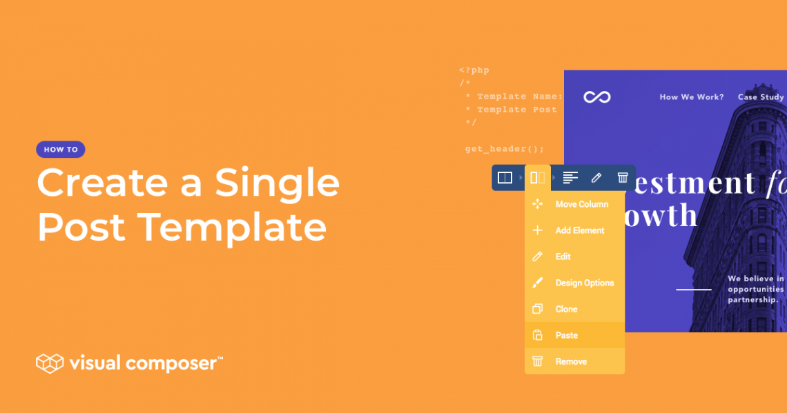 How to create a single post template in WordPress