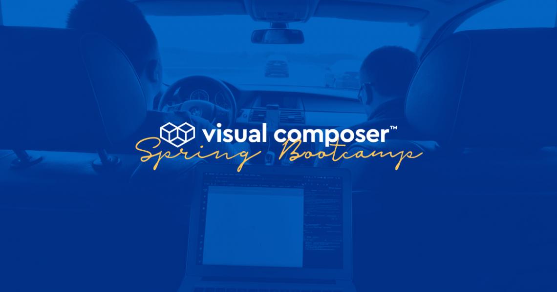 Visual Composer Spring Bootcamp in Druskininkai