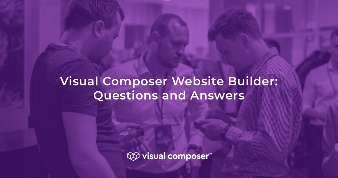 Visual Composer questions and answers by Raitis Sevelis