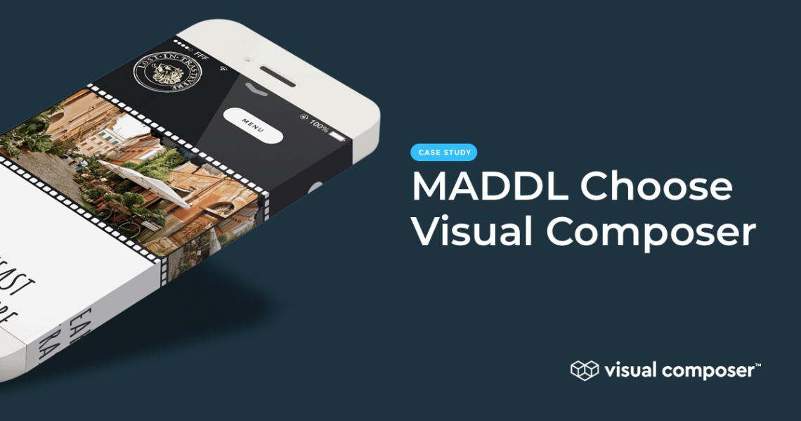 Maddl agency choose Visual Composer Premium
