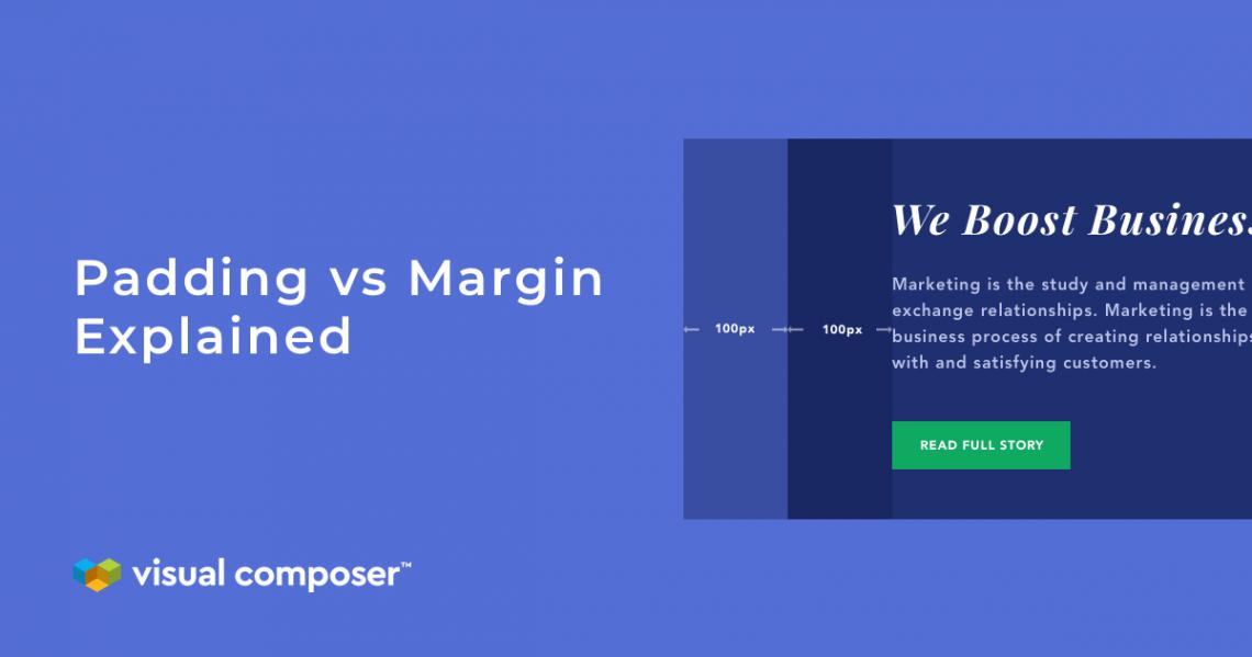 Padding vs margin explained featured