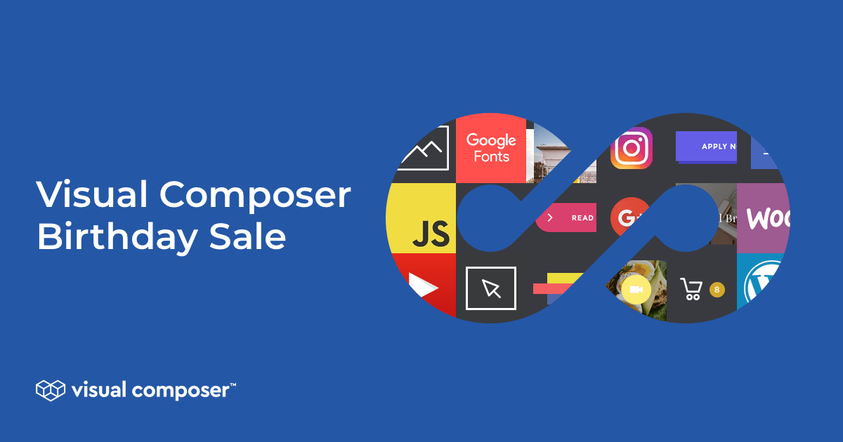 Visual Composer Birthday Sale With 50% OFF
