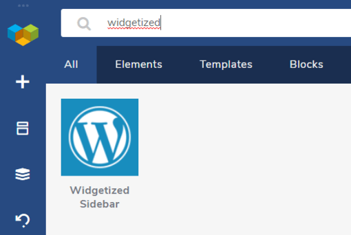 Visual Composer Widgetized Sidebar