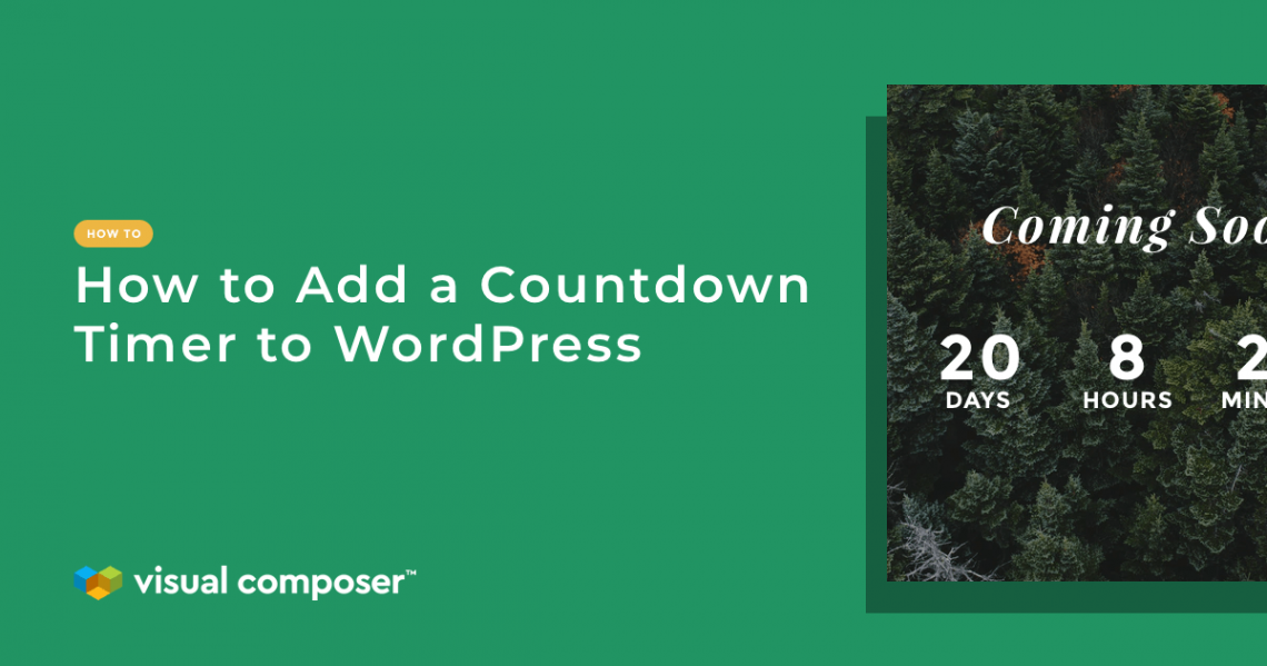 How to add a countdown timer to WordPress