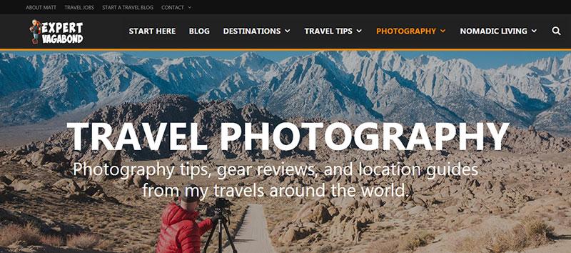Expert Vagabond Photography Blog