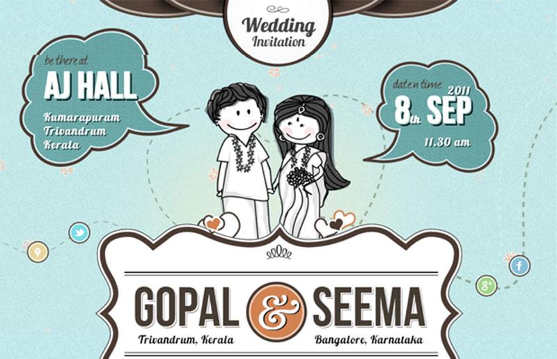 Include Location Information Wedding Website Example