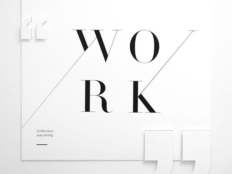 Use plenty of white space Minimalist Graphic Design