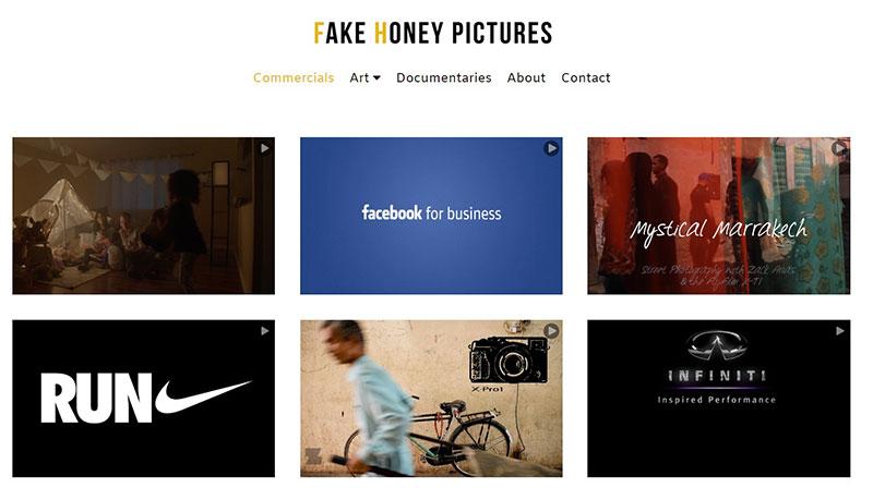 Fake Honey Pictures Graphic Design Portfolio