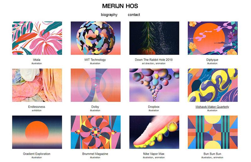 Merijin Hoss Graphic Design Portfolio