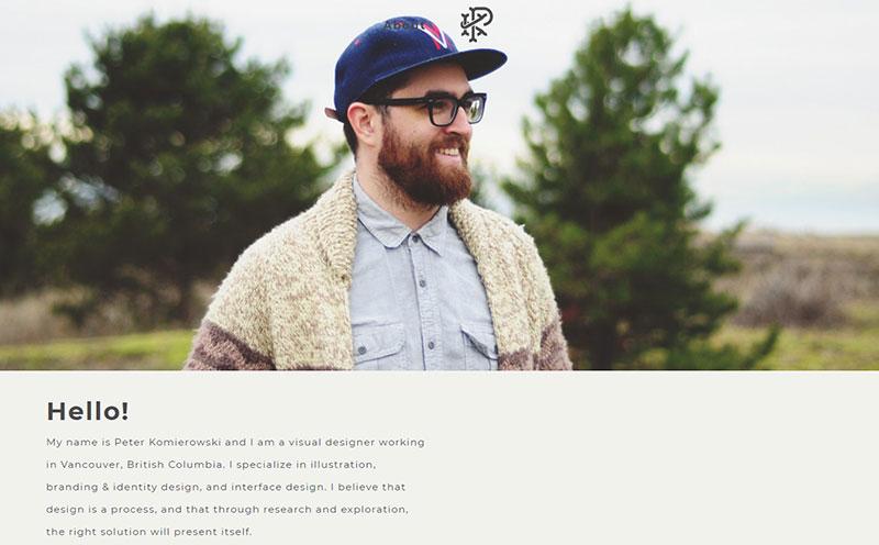 Peter Komierowski Graphic Design Portfolio