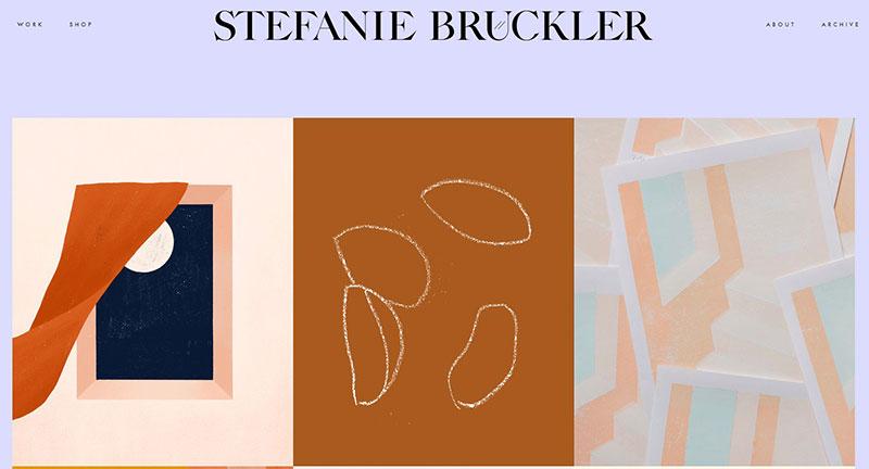 Stefanie Bruckler Graphic Design Portfolio