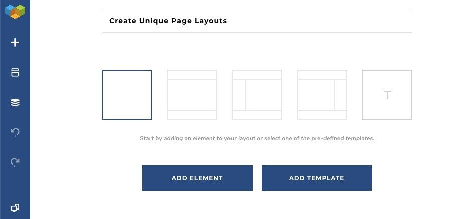 Visual Composer Page Layouts