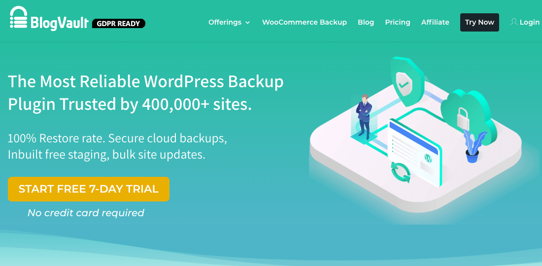 BlogVault plugin for WordPress