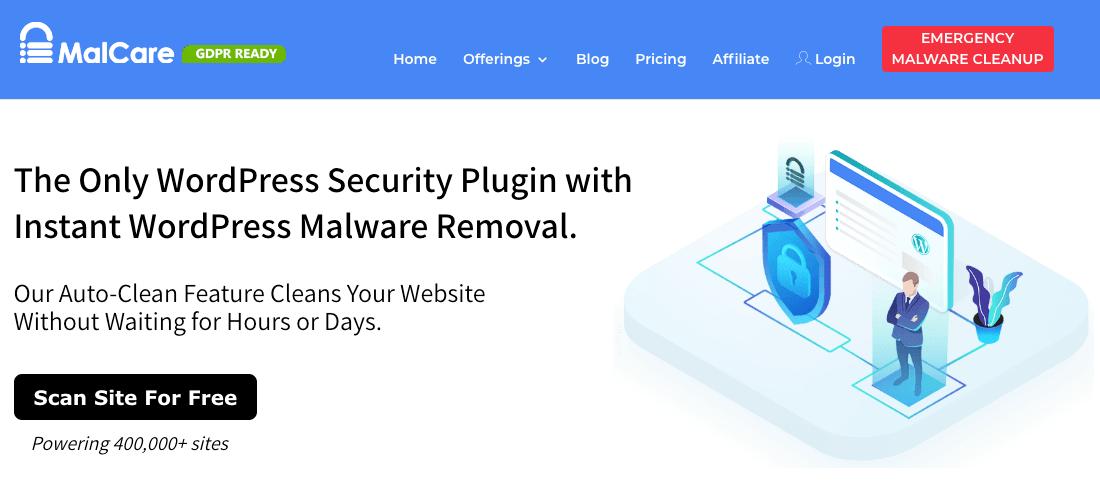 MalCare plugin for WordPress