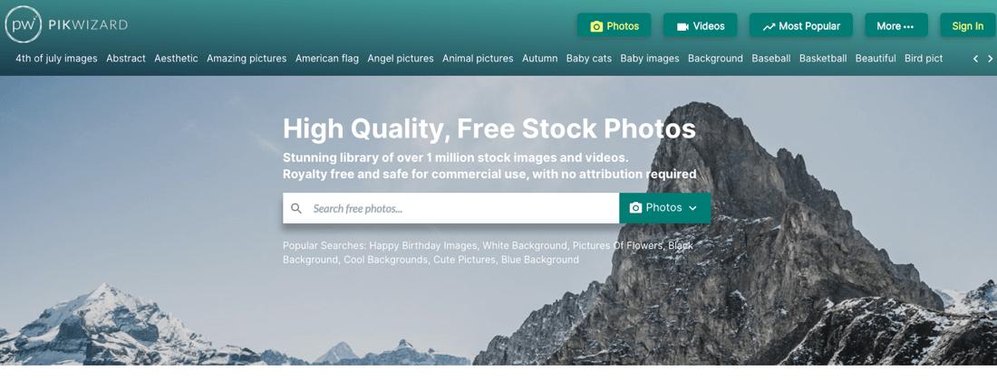 Pikwizard free stock images