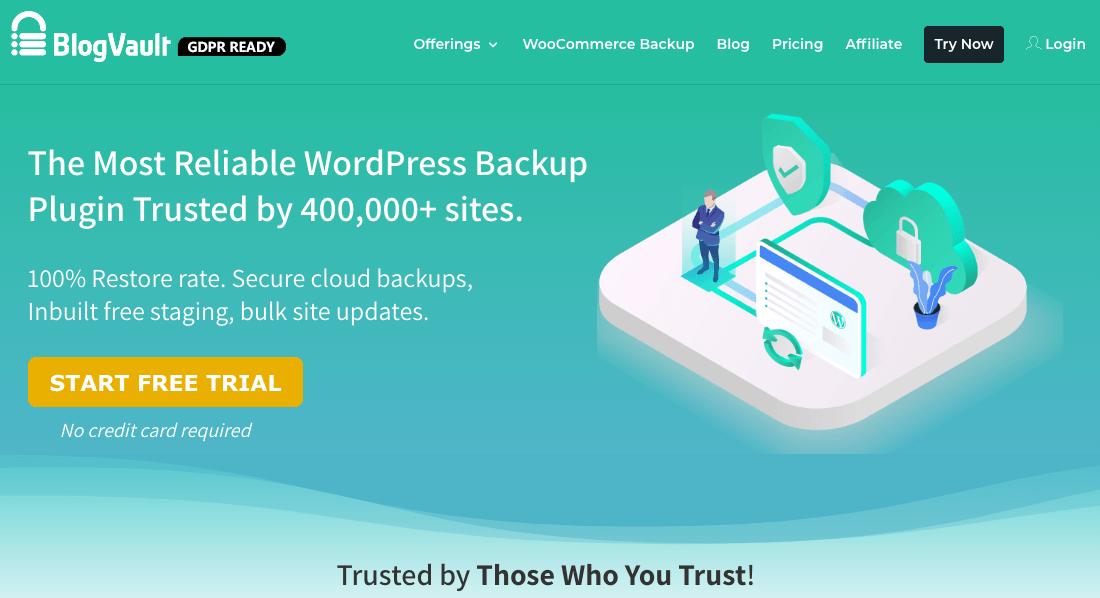 BlogVault backup