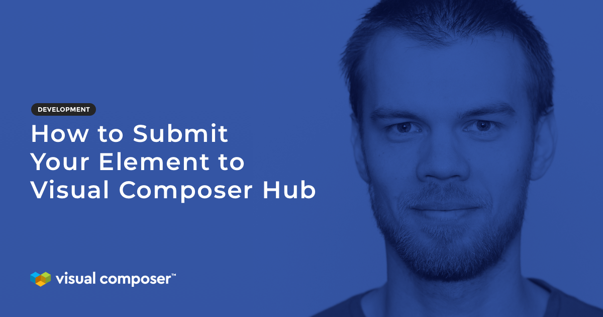 How to submit element to visual composer hub featured