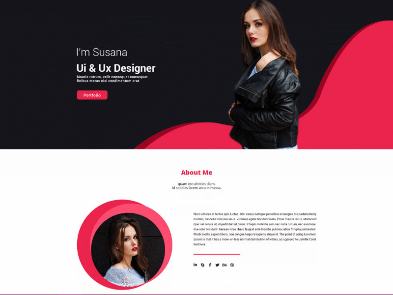 Create imaginary clients to design web pages for - how to create a web design portfolio with no job experience