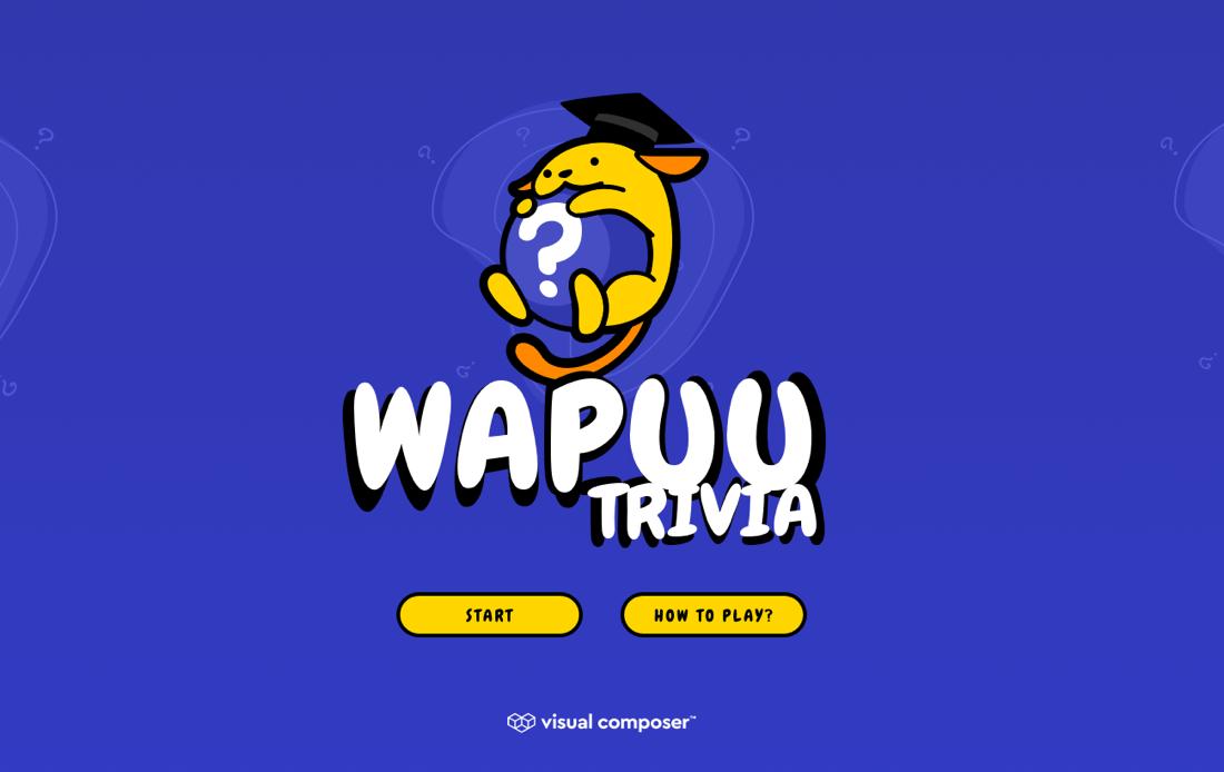 Wapuu Trivia Game