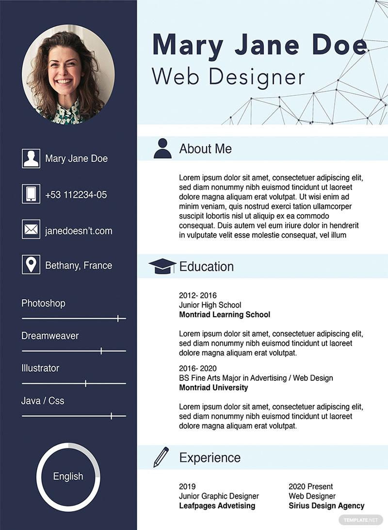 Basic items how to create a web design portfolio with no job experience