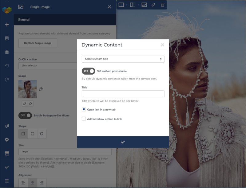 Dynamic Content Link Selector