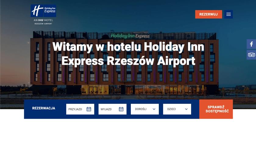 Holiday Inn Express website