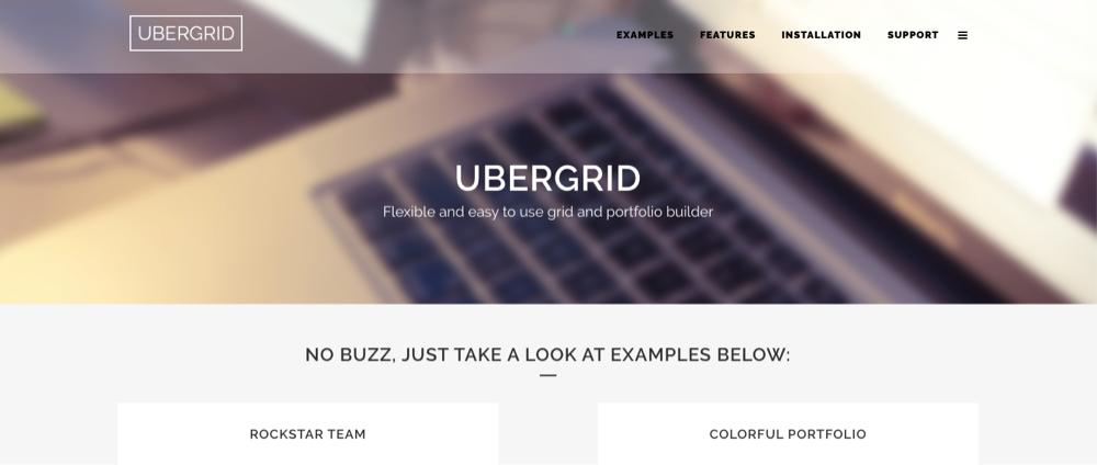 UberGrid Plugin