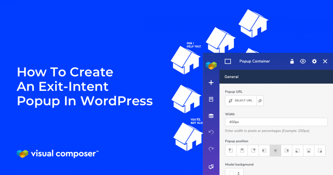 how to create exit intent popup in wordpress