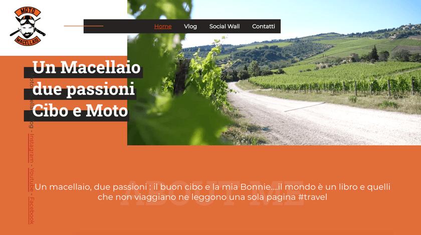 Moto Macellano website